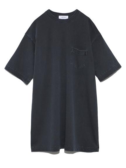 ハーフスリーブポケットTシャツワンピース