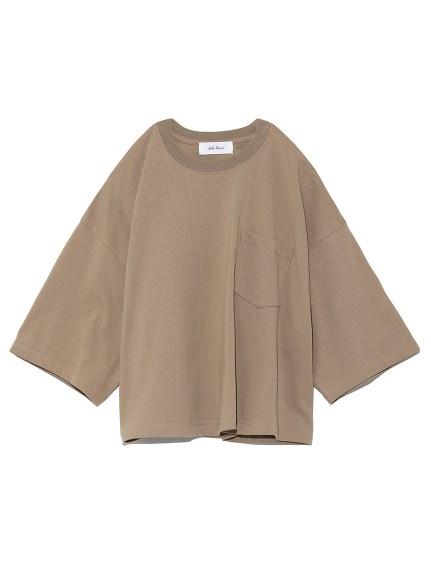 短丈ボリュームシルエットTシャツ(MOC-0)