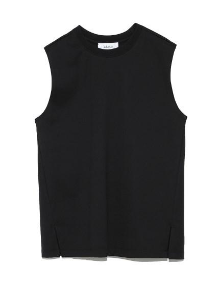 ベーシックノースリーブTシャツ(BLK-0)