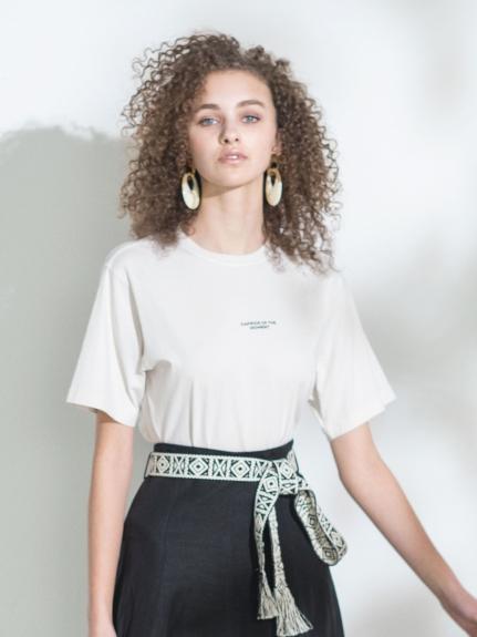 ピグメントTシャツ(IVR-0)