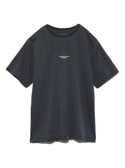 ピグメントTシャツ(BLK-0)