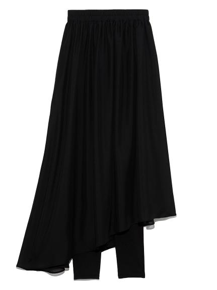 レギンス付フレアスカート