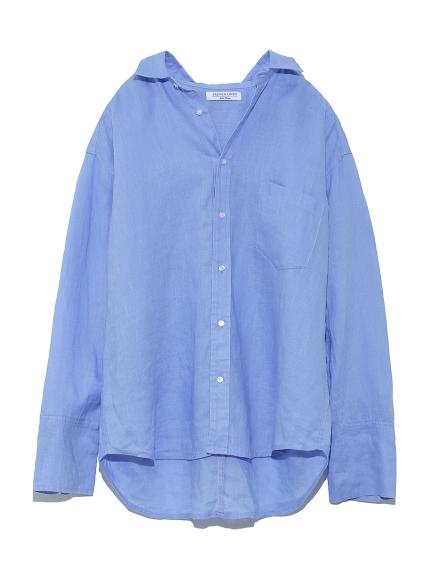 フレンチリネンシャツ(BLU-0)