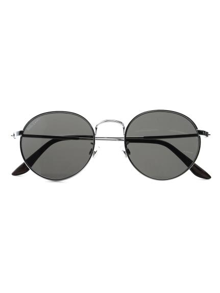 ラウンドメタルサングラス(SLV-F)