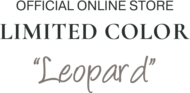 OFFICIAL ONLINE STORE LIMITED COLOR Leopard