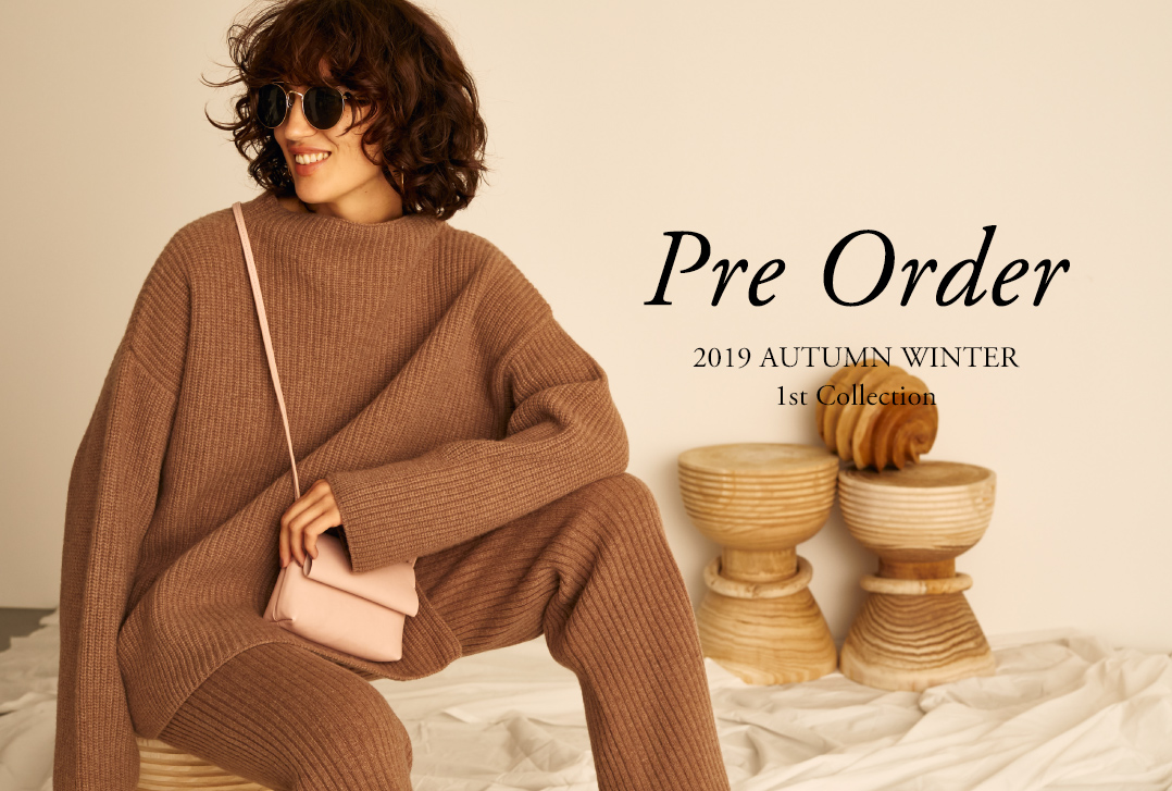 Pre Order 2019 AUTUMN WINTER 1st Collection