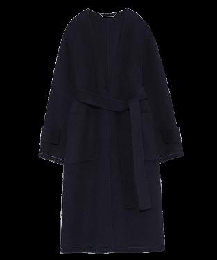 Long gown coat